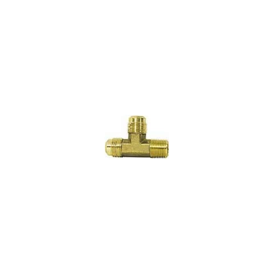 IMPERIAL 90283 45FLARE TUBE MALE RUN TEE FITTING 5/16X1/8(PACK OF 5)