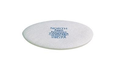 North(R) N95 Prefilter For 5400, 5500, 7600 And 7700 Series Air Purifying Respirator (Requires N750015 Filter Holder and N750027 Filter Cover)