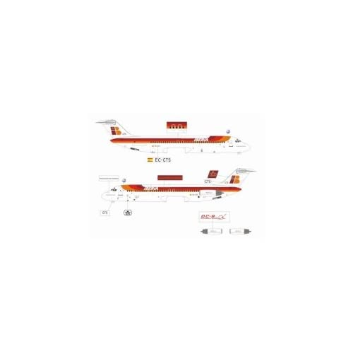 Jet X Iberia DC 9 Model Airplane: Toys & Games