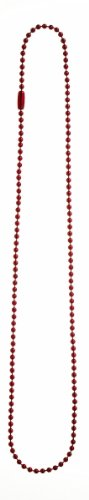Ganz Ball Chain Necklace - Red