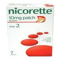 Nicorette Nicotine 10mg Patches - Step 2 - 7 Patches