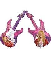 "41"" Hanna Montana Guitar Balloon - 1"