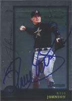 Russ Johnson New Orleans Zephyrs - Astros Affiliate 1998 Bowman Autographed Hand... by Hall of Fame Memorabilia