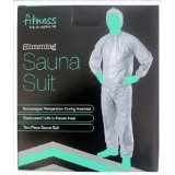 Sauna Suit/Sweat Suit-Helps shed extra pounds...Silver-Size:S/M [Misc.]