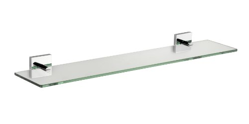 Croydex Flexi-Fix Chester Glass Shelf