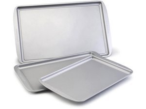 Farberware Nonstick Bakeware 3-Piece Cookie Pan