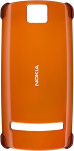 Nokia CC-3014 Hard Cover Schutzhülle für 600 orange