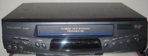 Panasonic VCR 4-Head PV-8451