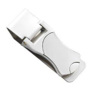 sterling silver money clip credit card holder