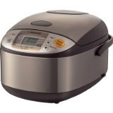 Zojirushi NS-TSC10 5-1/2-Cup (Uncooked) Micom Rice Cooker and...