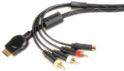 PLAYSTATION® 3 to S-VIDEO + 3 x RCA PHONO PLUGS LEAD