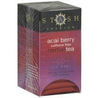 Stash Tea - Premium Caffeine Free Herbal Tea Acai Berry - 18 Tea Bags