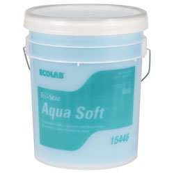Ecolab 12081 TriStar Aqua Soft Fabric Softner, Commercial-Strength Ecolab Aqua Soft Laundry Softener, When Your Image Matters More (PL)