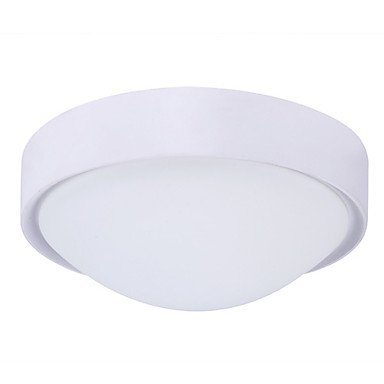 9W Modern Led Ceiling Light Painting Finish In White