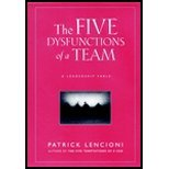 Five Dysfunctions Of A Team - Leadership Fable (02) By [Paperback (2002)]