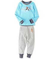 Disney Planes Soft & Cosy Thermal Vest & Trousers Set