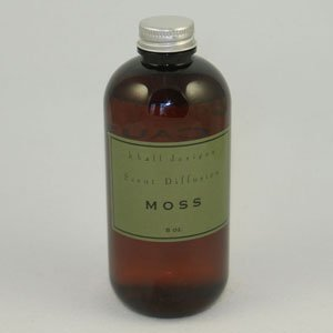 K.Hall Designs Moss (Sandalwood) Scented Reed Diffuser Oil REFILL ONLY