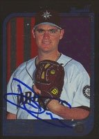 Dean Crow Seattle Mariners 1997 Bowman 1st Card Autographed Hand Signed Trading Card. by Hall of Fame Memorabilia