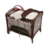 Graco Pack 'n Play Playard with Newborn Napper Station DLX, Chelle Image