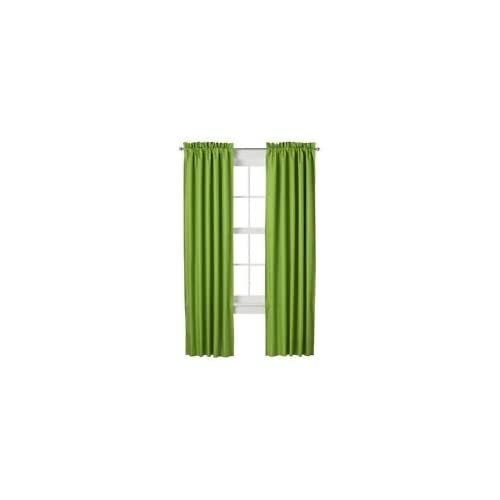 window curtain panel lime green 42 x 63 window treatment cu