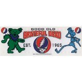 CandD Visionary Grateful Dead Icons Clear Sticker