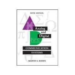 Analog And Digital Communication Systems, 5th Edition  Book/CD Rom  [Paperback] available at Amazon for Rs.339