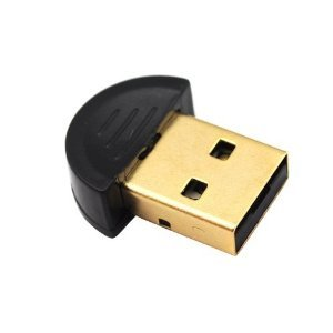 High Speed Mini USB Bluetooth New Version 4.0 Dongle Adapter For PC Desktop Computer Laptop **Compatible with Window XP / Vista / Windows 7 (32-Bit + 64-Bit), Windows 8 (32-Bit + 64-Bit)