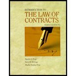img - for An Introduction to the Law of Contracts 3rd EDITION book / textbook / text book