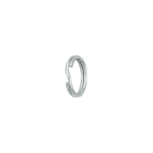 Sterling Silver Split Rings 9 mm 12 pc (9mm Split Ring compare prices)
