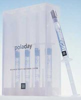 Pola Teeth Whitening Gel, 4 Syringe Pak, PolaDay 7.5% Hydrogen Peroxide (Oral Hydrogen Peroxide Gel compare prices)