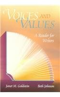 Voices and Values: A Reader for Writers