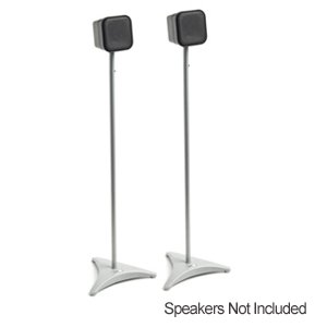 Image of OmniMount SR1 Speaker Stands - Pair (Grey) (SR1)