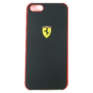 Special Sale Ferrari iPhone 5 Scuderia Hard Rubber Case (Black)