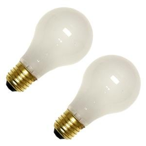 Bulbrite 25A/220 220 Volt 25-Watt High Voltage Incandescent A19 Light Bulb, 2 Pack