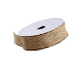 Best Deals! 1.5 Inches Wide Burlap Ribbon on Spool - 10 yards