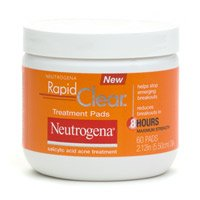 Buy Neutrogena Acne Rapid Clear Daily Treatment Pads – 60 Each
