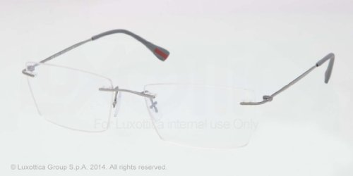 pradaPrada (Linea Rossa) PS55EV Eyeglasses-5AV/1O1 Gunmetal-52mm