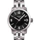 Tissot Watches Men's PRC 200 Watch (Black) (Color: black)