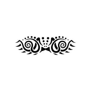 Amazon.com: Swirl Tribal Tattoo Stencil - 24 inch (at