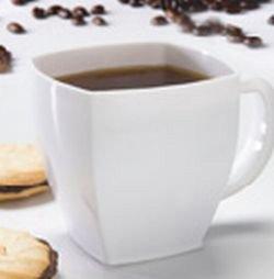 Square Plastic Coffee Cup