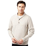 XXXL Y-Neck Jumper