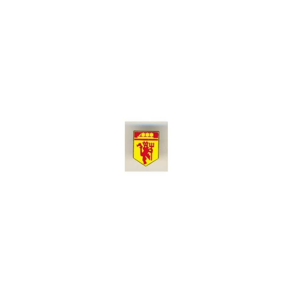 Manchester United OFFICIAL MANCHESTER UNITED F.C. MINATURE CREST DEVIL