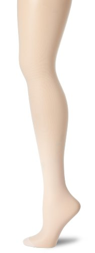 Hanes Women's Control Top Reinforced Toe Silk Reflections Panty Hose