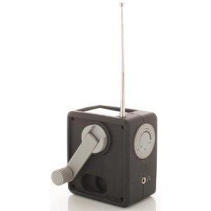 Aquabourne Kurbel- und SonnenRadio AM/FM/WB -