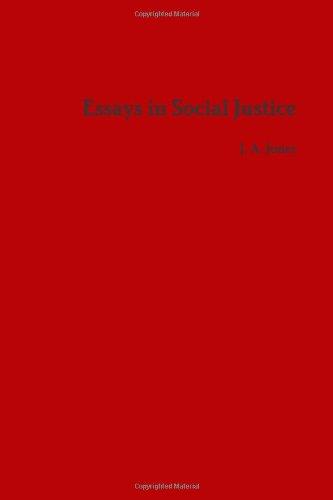 Essays in Social Justice
