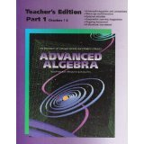 img - for UCSMP Advanced Algebra, Vol. 1 Teacher's Edition, Chapters 1-6 book / textbook / text book