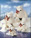 "Klondike Jr Polar Bear 13"" by Gund - 1"