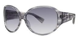 Vera WangVera Wang V217 Grey Silk Plastic Sunglasses