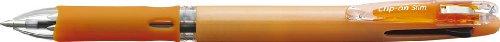 ゼブラ クリップ-オンスリム3Cパステルオレンジ B3A5-WOR