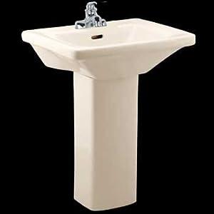 Pedestal Sink Small Bone Bathroom Wee Wash Child-size Renovators ...